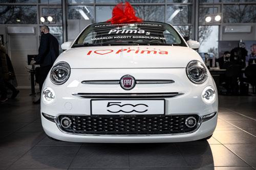 """Kisorsoltuk az """"I ❤ Príma Fiat 500"""" nyertesét"""